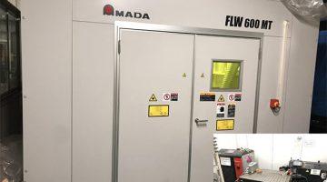 ハンディファイバーレーザ溶接機 FLW-600 MT