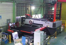 アマダ レーザ・パンチ複合加工機 EML3610NT