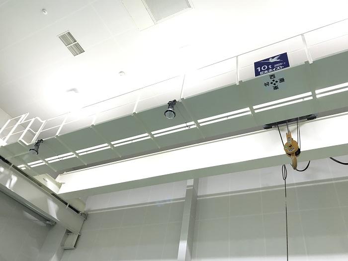 天井クレーン10t